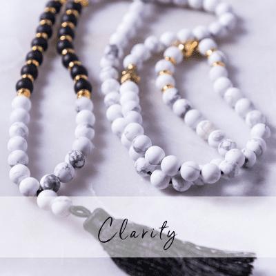 Halsbandet Clarity ett Yogasmycke från Christina Grossi